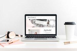 Blush Creative Showit Web Template