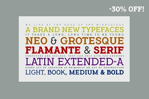 Flamante Serif -8 fonts-