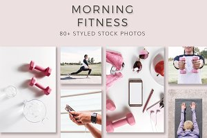 Morning Fitness Stock Bundle