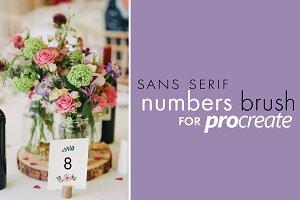 Procreate Sans Serif Type Kit 3