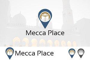 Hajj Mecca Location Logo