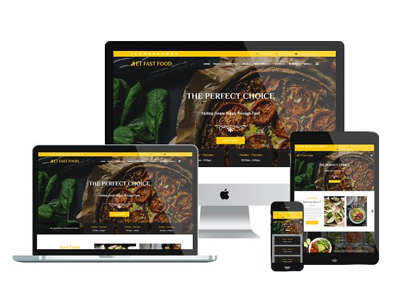 ET FastFood WordPress Restaurant