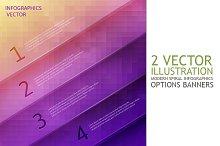 Infographics options banner