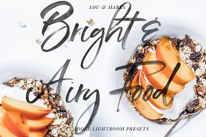 Bright & Airy Food Presets LR//PS
