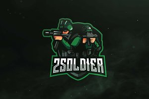 2 Soldier Sport and Esports Logo
