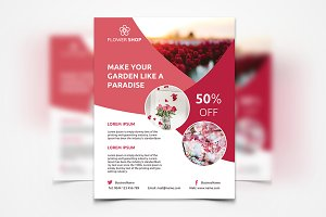 Flower Shop - Flyer