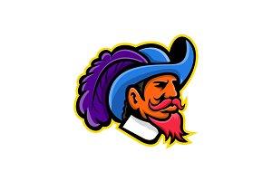 Cavalier Head Mascot
