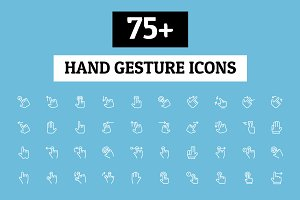 75+ Hand Gesture Icons