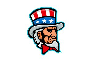 Uncle Sam Mascot