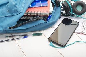 mobile studying application mockup