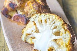 Spicy roast cauliflower