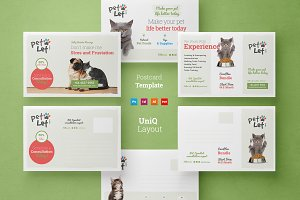 Veterinary Clinic postcard