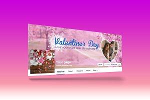 Valentine's Facebook Cover