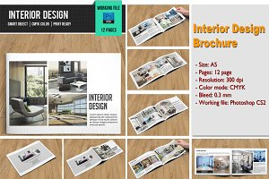 Interior design brochure-V101