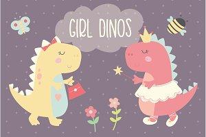 Girl Dinos