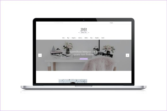 Zayer Creative WordPress Theme