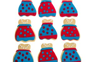 Group of decorated cookies