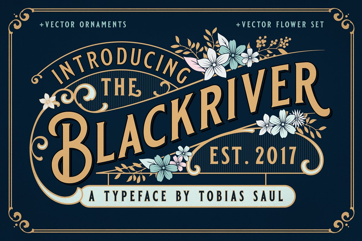 Vintage Font Bundle in Display Fonts - product preview 4