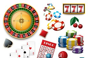Casino popular gambling symbols