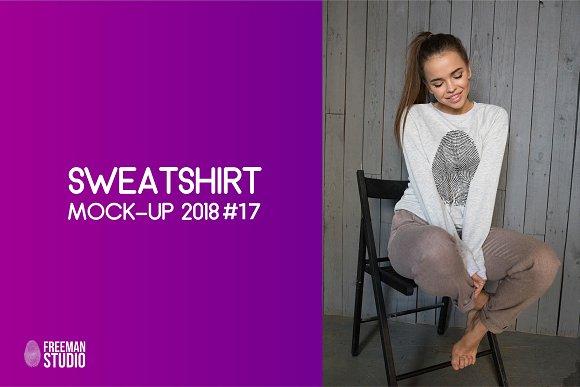 Free Sweatshirt Mock-Up 2018 #17