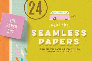 Seamless paper texture pack