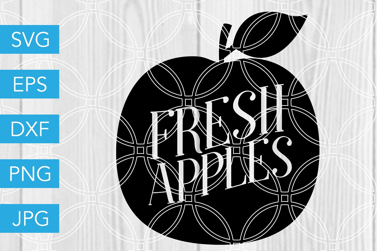Fresh Apples SVG Farm SVG in Illustrations - product preview 8