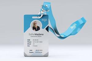 Blue ID Card