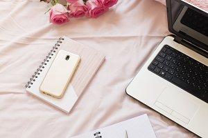 Freelance fashion home workplace