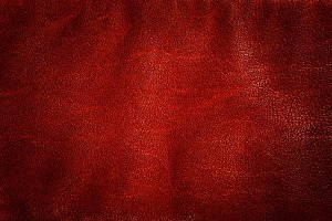 Genuine red leather background