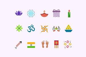 15 Diwali Icons