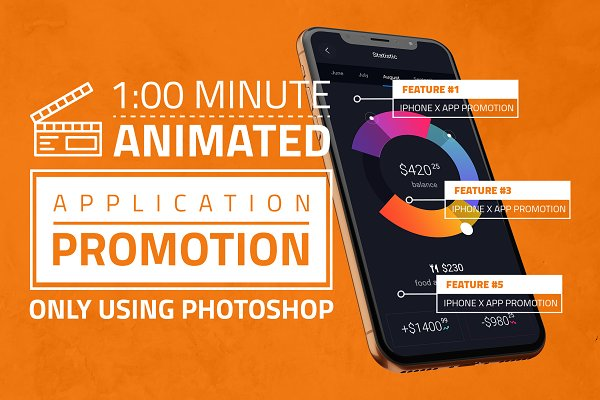 iPhone X App Promotion
