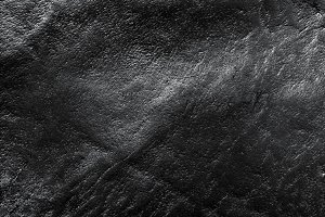 Genuine black leather background
