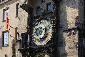 Astronomical Clock (Orloj) in Prague