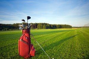 Professional golf gear