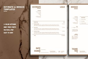 Invoice & Estimation Templates