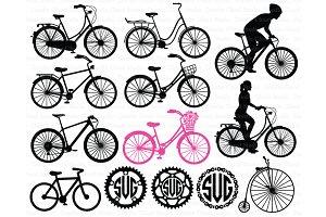 Bicycle SVG, Biking, Bike SVG Files