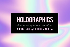50% OFF/ Holographics Backgrounds