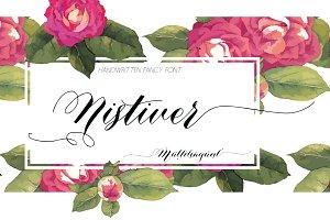 Nistiver Font Family (otf)