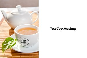 Tea Cup Mock-up #5