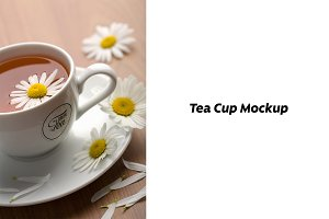 Tea Cup Mock-up #4