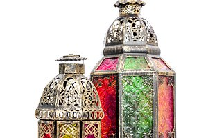 Arabic lantern Oriental decoration