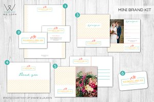 Mini Brand Kit Wedding Photographer