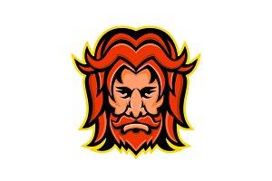 Baldr Norse God Mascot