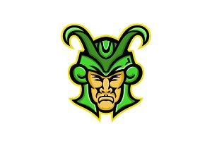 Loki Norse God Mascot