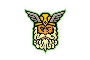 Odin Norse God Mascot