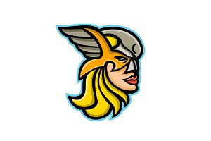 Valkyrie Warrior Mascot