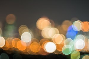 Bokeh and defocus lighting