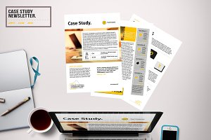 Case Study Newsletter Template