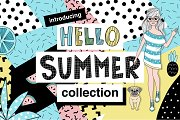 Hello Summer - Doodle Collection