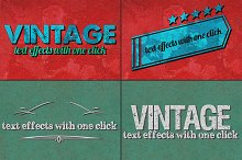 Vintage Text Effects Ver. 1